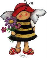 abelha1 Imagens fofas!! para crianças