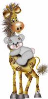 urso+girafa Imagens fofas!! para crianças