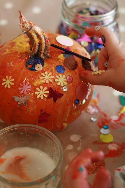 Sparkly Pumpkins