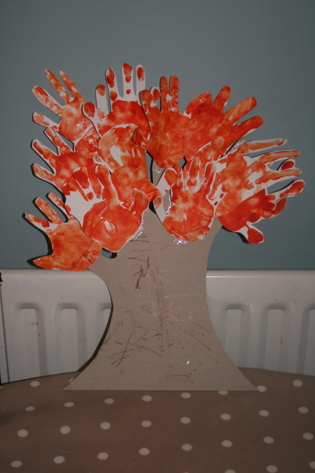 Autumn Tree Handprints The Imagination Tree