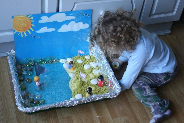 Activities for preschool children: Play Spaces