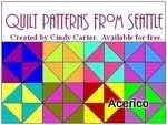 Quilt Patterns from Seatle