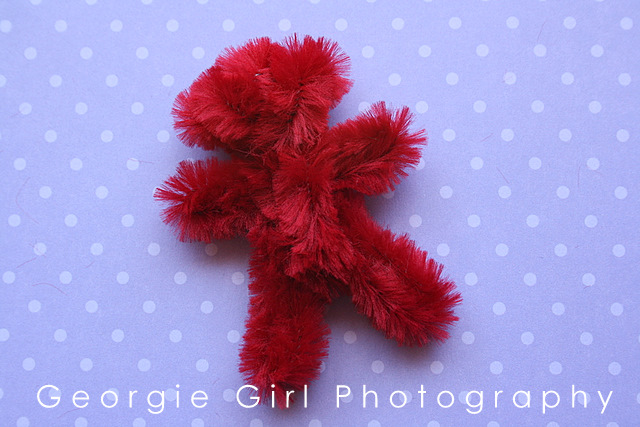 love and lollipops pipe cleaner teddy bear