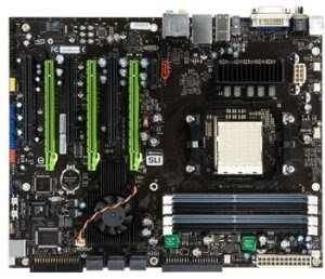 Chipset nVIDIA nForce 980a SLI