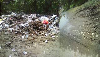 Kondisi Pasar Sape Jadi Kubangan Sampah dan Limbah