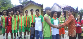 Club 'Pegadaian Sape' Juarai Lomba Volly-Ball