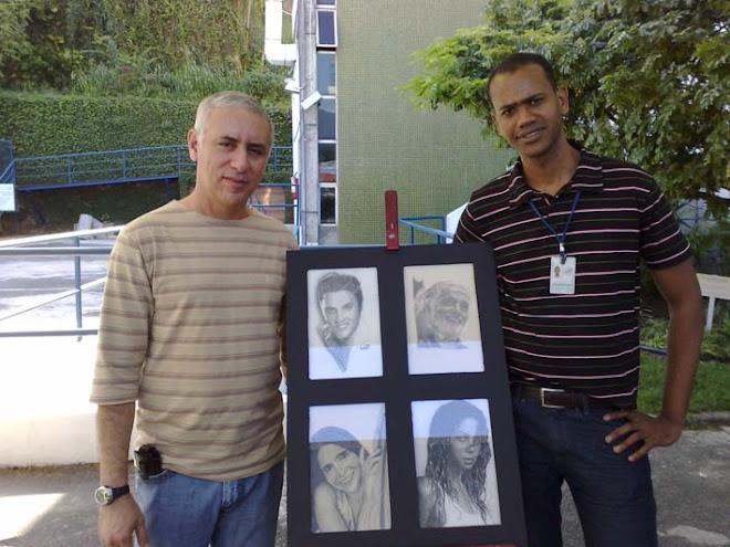 Eu e meu amigo Reinaldo de Oliveira