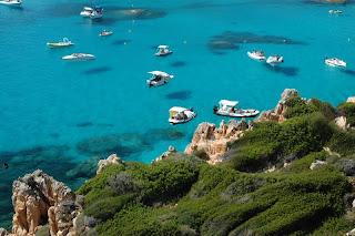 Sardinia sea Archipelago di Maddalena