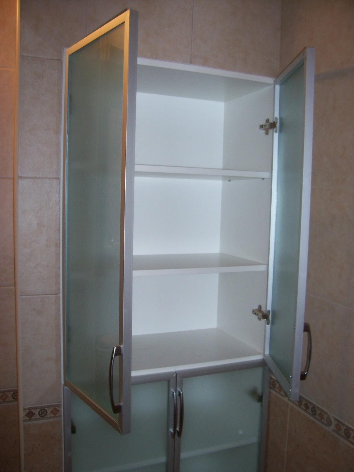 Estantes de aluminio para ba o for Mueble de aluminio exterior