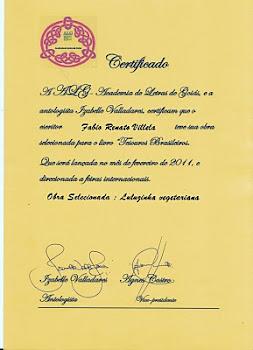 """""""Tesouros Brasileiros"""" - Academia de Letras de Goiás"""