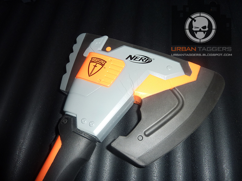 Urban Taggers.: Review: Nerf N-Force Klaw Hatchet