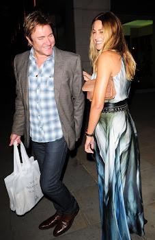 London Celebrity Photographer David Kerr : Simon & Yasmin LeBon ...