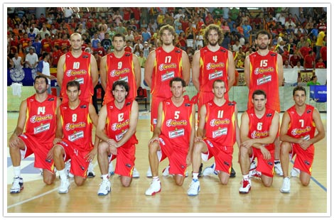 espana grecia de baloncesto: