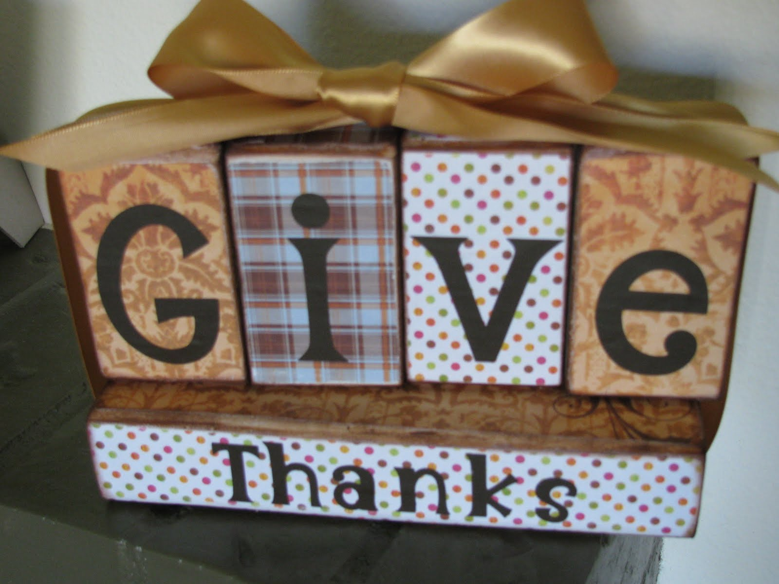 Wood Block Craft Ideas ~ My crafty playground fall blessings give thanks wood