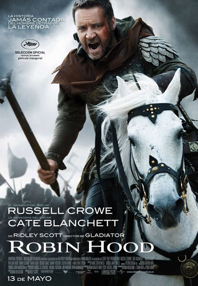 "Crítica de ""Robin Hood (2010)"" por Alfredo Horna Portero Robin+hood+2010+Ridley+Scott++cartel"