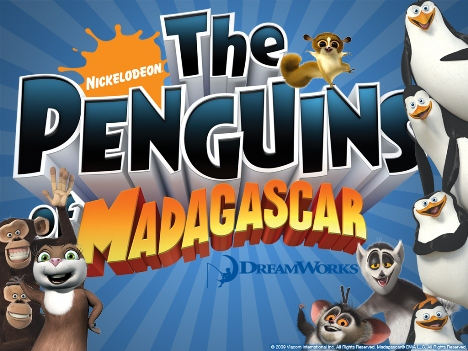 Penguins of Madagascar Blue all stars