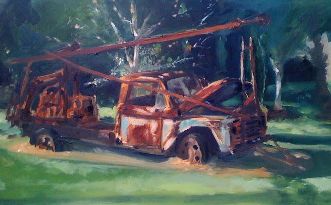 Rust Painting