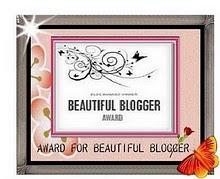 BEAUTIFUL BLOGGER AWARDS