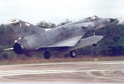Caça Mirage III da FAB