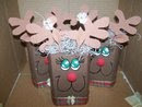 RUDY REINDEER WOODEN SHELF SITTER