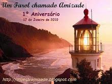 """Selinho comemorativo 1º aniv do blog """"Farol da Amizade"""""""