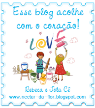 "Recebi do blog "" nectar-da-flor"""