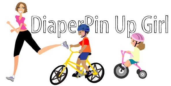 Diaper Pin Up Girl