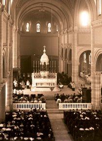 interior Basilica 1958