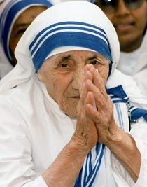 Blessed Teresa of Calcutta ...Pray for us.