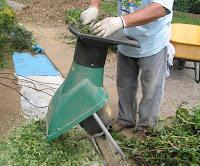 triturando ramas