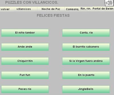 Puzzles con Villancicos