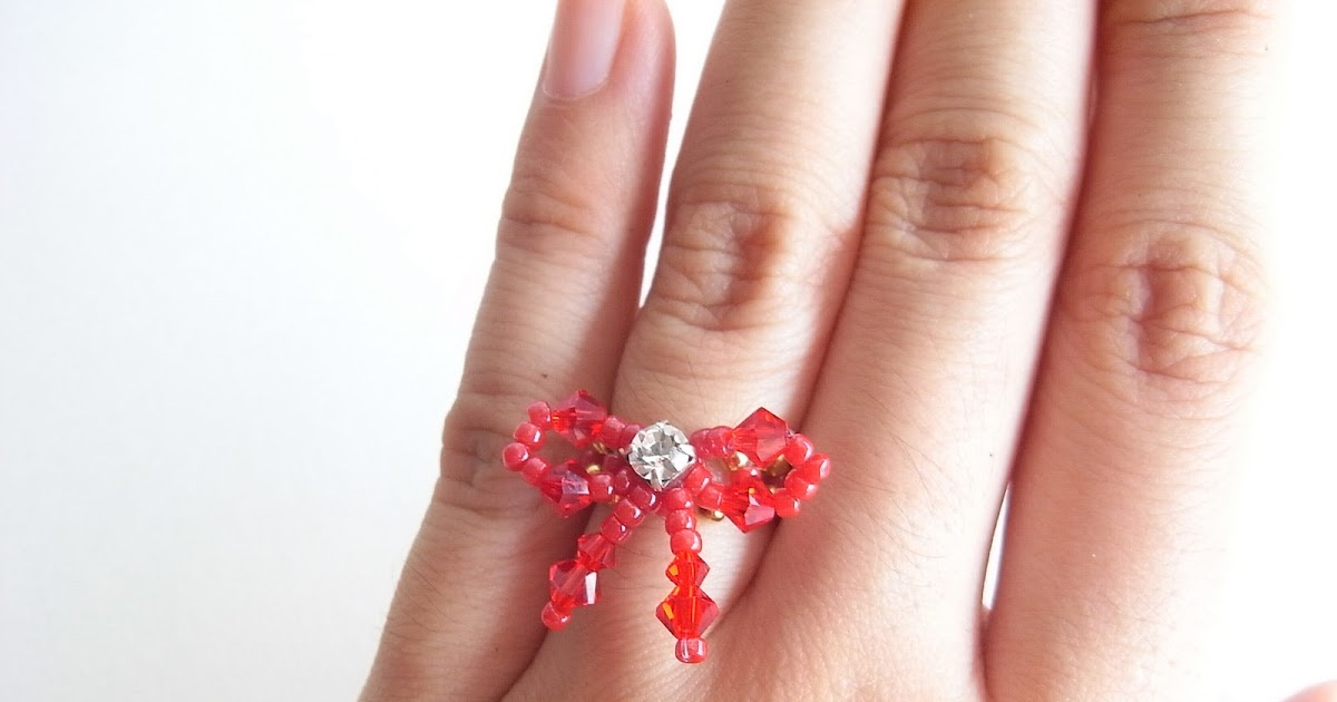 how to make a bow ring