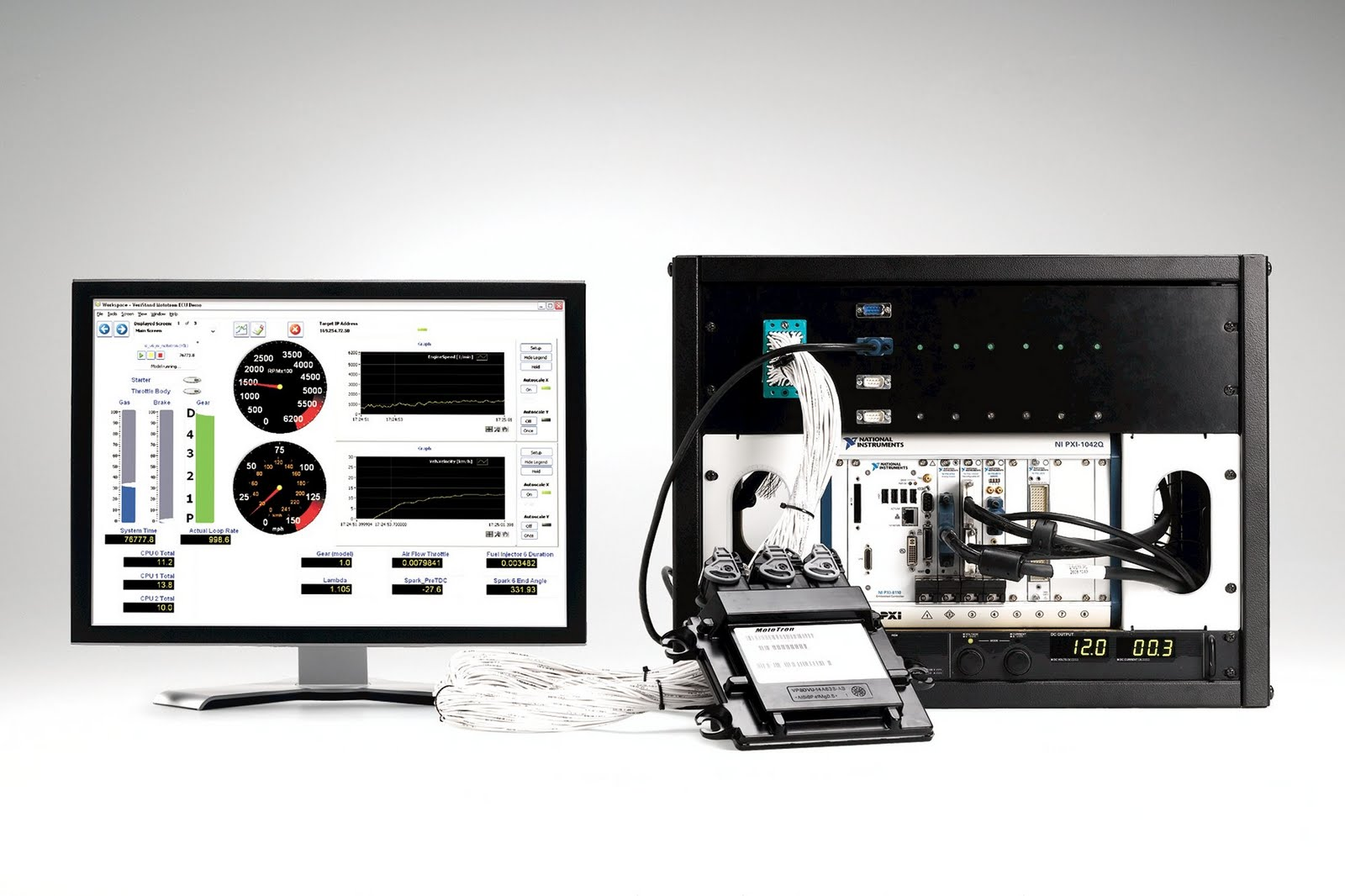 The Embedded Blog November 2009 Robot Rs170 Stereo Speaker With Led Black National Instruments Is Extending Its Hardware In Loop Hil Simulation Platform Which Includes A Range Of Products That Optimise System