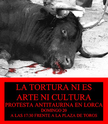 Manifestación Lorca 20sept/09
