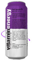 Vitamin Water - Fruit Punch Energy Drink
