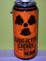 Sugar Free Radioactive Energy Drink - 16 Ounces