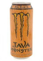 16 Ounce Java Monster - Big Black