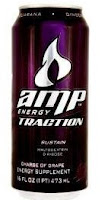 Amp Energy Drink - Traction