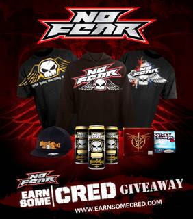 Earn Some Cred Give Away!