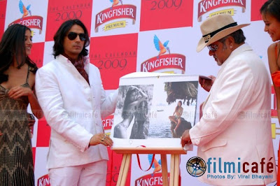Kingfisher 2009 Calendar Launch.