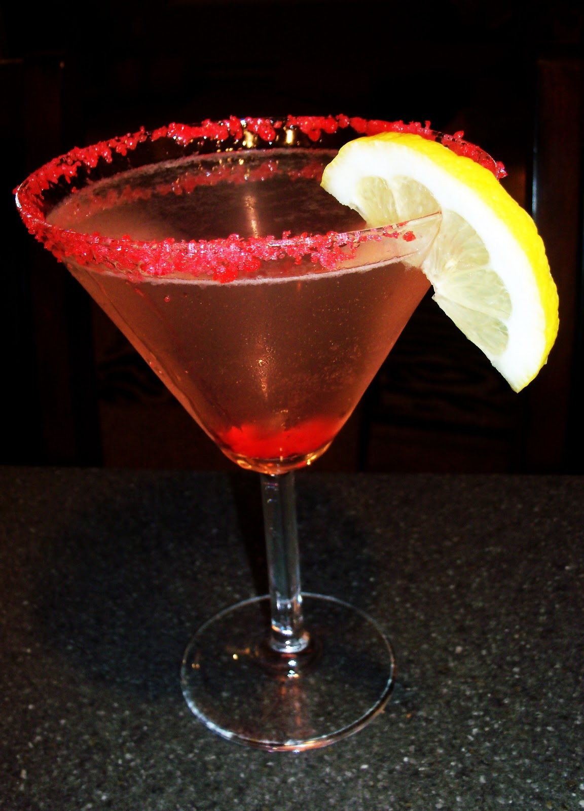 The Foodie Fixx: Cocktails! Rockin' Lemon Drop Martinis & After-Dinne...