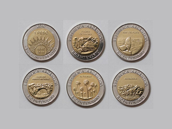 Home » NOTICIAS » Monedas bicentenario Argentino