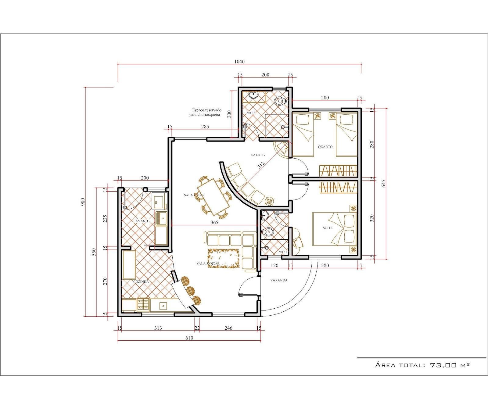 Desenhar Planta De Casa 3d Decorao E Projetos Plantas De