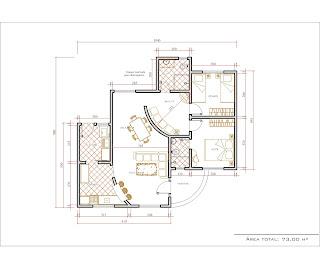 Htk projetos autocad casa 2d e 3d for Casas en 2d