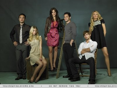 gossip girl cast photo shoot
