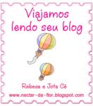 """Presente da Rebeca e do Jota Cê ( Blog """"Néctar da Flor"""")"""
