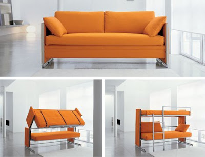 This sofa bed/bunk bed combo