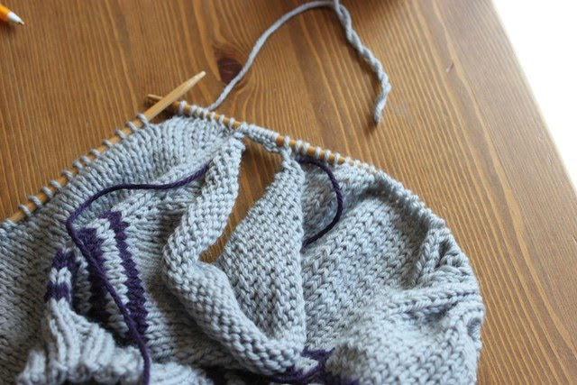 Adding Extra Stitches To My Knitting : The Brown Stitch The Great Underarm Divide...