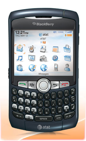 BlackBerry Curve 8320 Phone Blue BlackBerry Curve 8320 Phone, Blue (AT&amp;T)