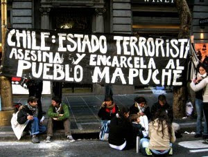 The hunger strike began on July 12th, 2010, with five Mapuche at El Manzano Prison in the city of C